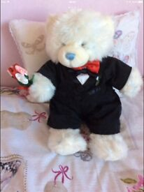 BUILD A BEAR WITH GROOM OUTFIT