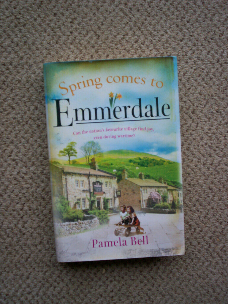 spring comes to emmerdale hardback book free for collection