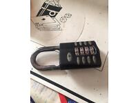SQUIRE COMBINATION LOCK 5 POUNDS