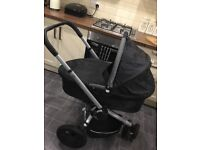 Quinny Pram set with car seat
