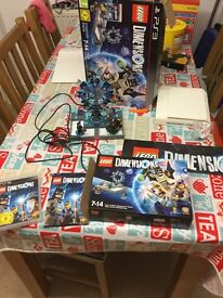 Lego dimensions PS3 starter pack. Used but in excellent condition 100% Complete