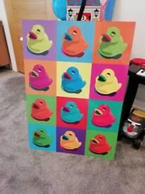 Wall art for kids room