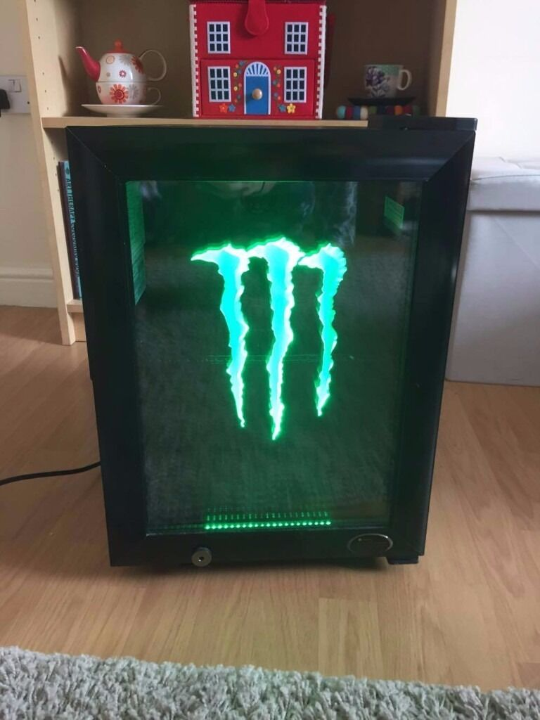 Gs1 Monster Energy Table Top Refrigerator For
