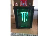 GS1 MONSTER ENERGY Table Top Refrigerator For Sale.