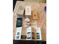 Apple iPhone 4S O2/Giffgaff/Tesco 16GB black locked boxed excellent condition NO OFFERS