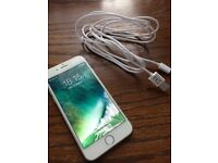 Iphone 6 silver 16 GB unlocked
