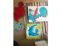 Dinosaur nursery decorations