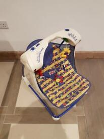 Fisher price deluxe take along swing-open to offers