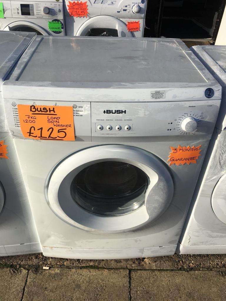 BUSH 7KG BASIC USE WASHING MACHINE
