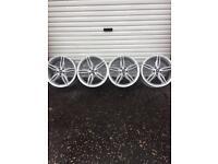 Ford Kuga 19 inch alloy wheels 2 spoke design silver finish