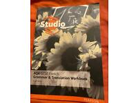 Studio AQA GCSE French Grammar and Translation Revision Workbook