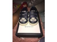 Infant size 4 gucci trainers