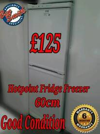 Hotpoint 60cm Fridge Freezer White