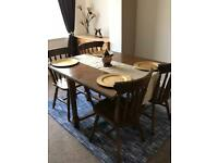 Dining Table and x 4 chairs