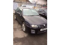 MG ZR 1.4 3DR 05 reg 2005 BLACK * 12 months MOT * New Clutch * 87.000 miles