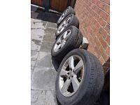 18 inch alloy wheels 235 55 R18 104V