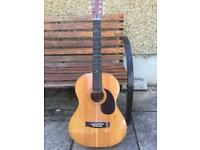 Hohner MW300 acoustic guitar full size steel reinforced neck great tone