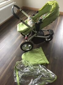 Mothercare MY3 pram & Maxicosy car seat