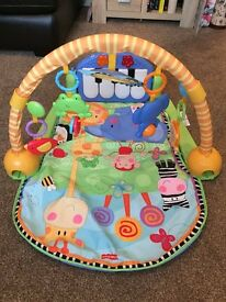 Fisher Price kick and play piano gym playmat