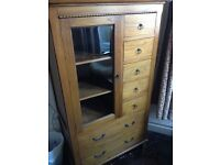 Richmond Bookcase with Glass Door and Drawers