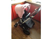 Bugaboo cameleon 3 with parasol soft pink