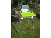 Beaba high chair in good condition, easy to clean