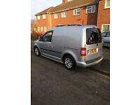 Silver caddy van for sale, really good condition been well looked after.