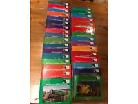 Thomas the Tank Engine hard backed books - 32 in total