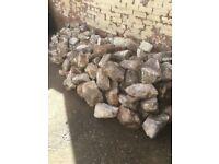 Reclaimed flint stone/rocks for sale.