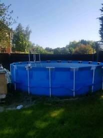 18ft x4ft swimming pool