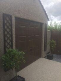 Georgian garage door