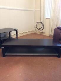 Dark Wooden TV Stand