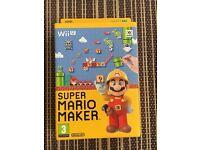 Super Mario Maker & Artbook (Nintendo Wii U, 2015)