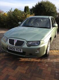ROVER75 CONNOISSEUR GREEN AUTO HEATED BEIGE LEATHER SEATS RADIO/CD LOW MILEAGE SHOWROOM CONDITION