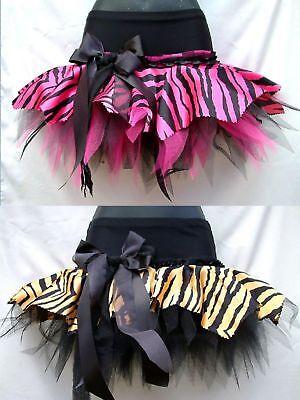 Plus Size Zebra Costume (PLUS SIZE TIGER ZEBRA TUTUS RARA JUNGLE CIRCUS)