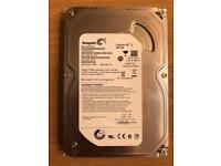 Seagate 500gb 3.5 inch hard drive - as new