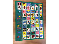 Kids Playroom Bedroom Rug Mat Alphabet NEW