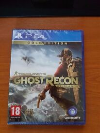 Ghost Recon Wildlands - Gold Edition (with season pass) - PS4 - New & Sealed