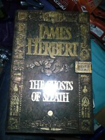 James Herbert Hardback Book The Ghosts of Sleath - Perfect Condition