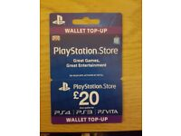 £20 Playstation Network Wallet Top Up
