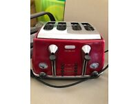 De'Longhi Micalite 4-Slice Toaster in excellent condition