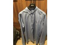 Fred Perry long sleeve shirt slim fit, fits a medium