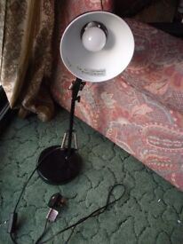 Anglepoise Reading Lamp Black Ready to use