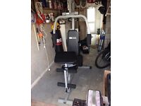GV PRO FITNESS MULTI GYM FULLY ASSEMBLED IN EXCELLENT CONDITION