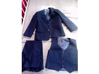 Boy's casual /wedding 3 piece suit - as new