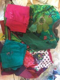 Catimini designer girls clothes. 2 tops 2 leggings.