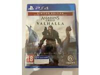 Assassin creed Valhalla Limited Edition PS4/PS5 SEALED