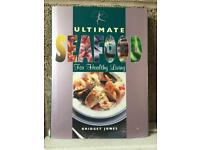 Seafood cooking books x2