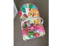 Fisher price infant toddler rocker (pink)