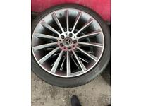Mercedes s class 20 inch wheels and tyres